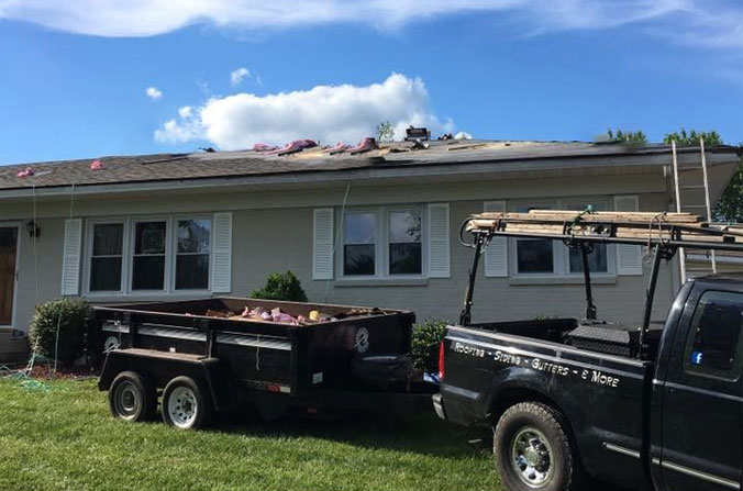 storm damage inspections and repairs, Lancaster Storm Damage Repair, Jacob's Ladder Roofing and Restoration